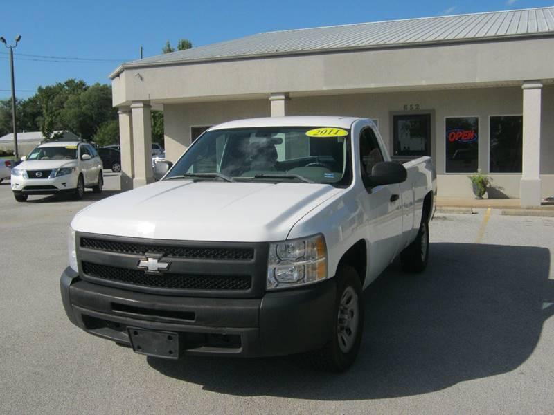 2011 Chevrolet Silverado 1500 4x2 Work Truck 2dr Regular Cab 8 ft. LB - Springdale AR