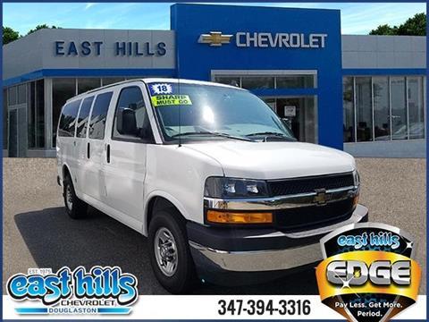 2018 Chevrolet Express Passenger for sale in Douglaston, NY