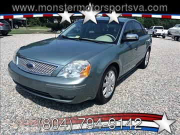2006 Ford Five Hundred for sale in Powhatan, VA