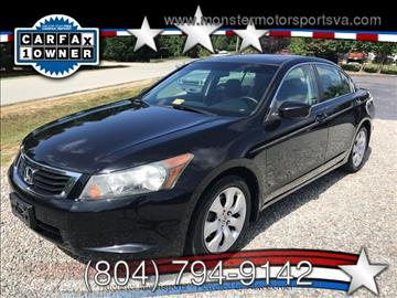2008 Honda Accord for sale in Powhatan, VA