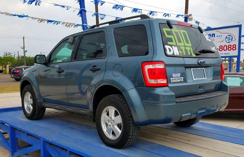 2012 Ford Escape XLT 4dr SUV - Mcallen TX