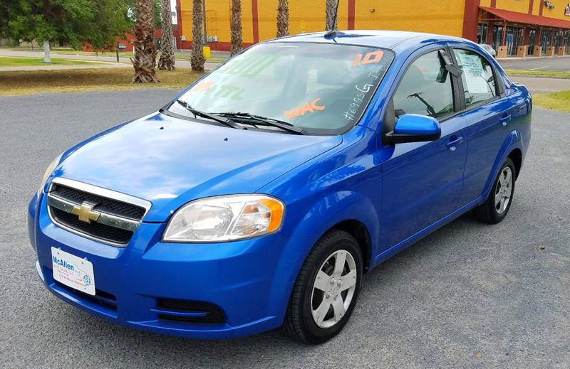 2010 Chevrolet Aveo LS 4dr Sedan - San Juan TX