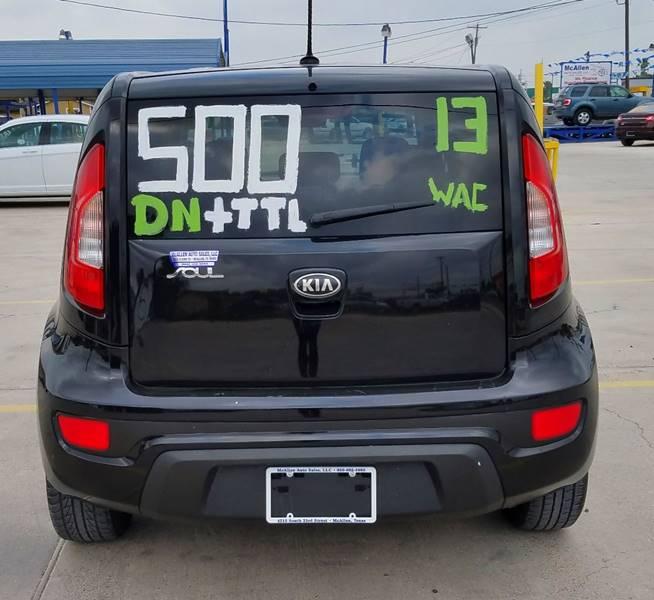 2013 Kia Soul ! 4dr Wagon - Mcallen TX