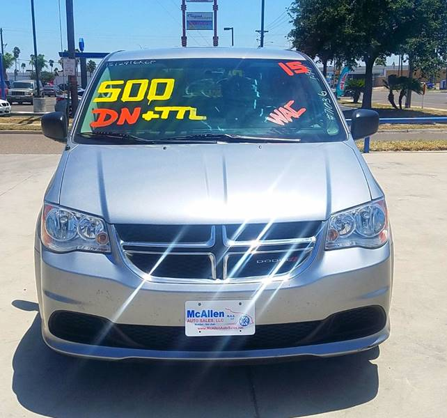 2015 Dodge Grand Caravan American Value Package 4dr Mini-Van - San Juan TX