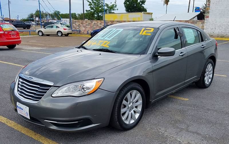2012 Chrysler 200 Touring 4dr Sedan - Mcallen TX