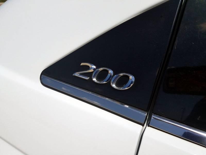 2013 Chrysler 200 LX 4dr Sedan - Mcallen TX