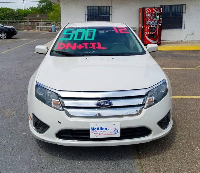 2012 Ford Fusion SEL 4dr Sedan - Mcallen TX