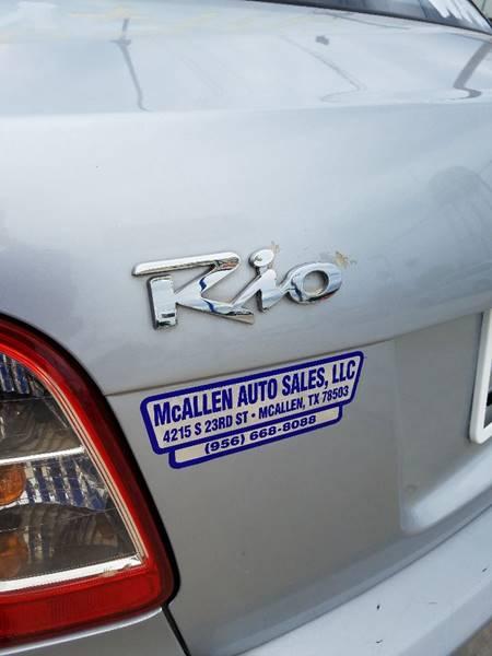 2011 Kia Rio 4dr Sedan - San Juan TX