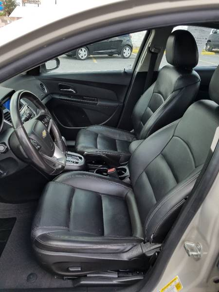 2012 Chevrolet Cruze LT 4dr Sedan w/2LT - Mcallen TX