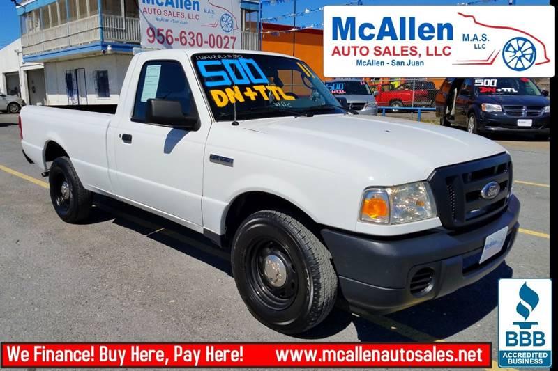 2011 Ford Ranger 4x2 XL 2dr SuperCab - San Juan TX