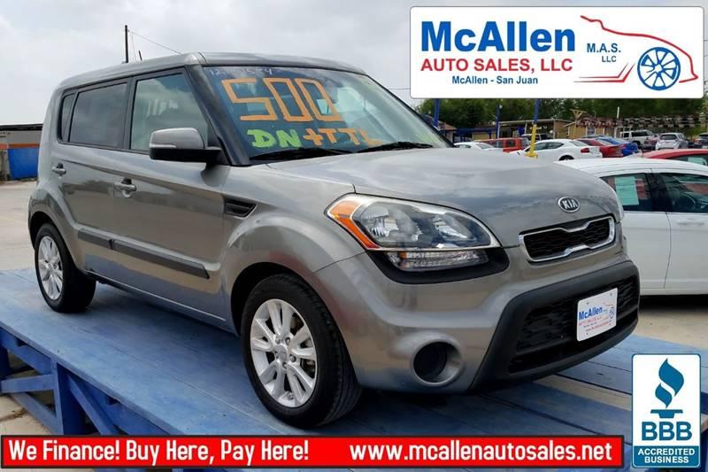 2012 Kia Soul ! 4dr Wagon - Mcallen TX