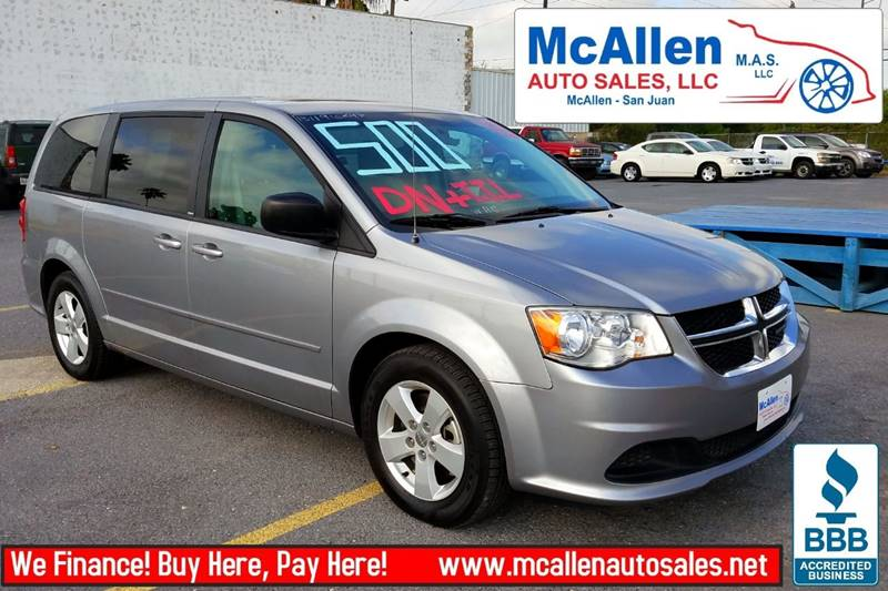 2013 Dodge Grand Caravan American Value Package 4dr Mini-Van - Mcallen TX