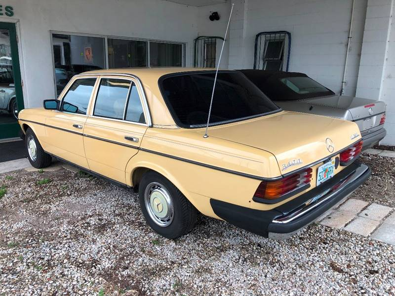 1982 Mercedes-Benz 240-Class 4dr 240 D Diesel Sedan - Winter Park FL