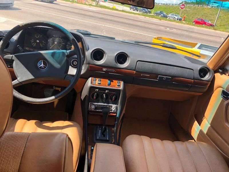 1982 Mercedes-Benz 240-Class 4dr 240 D Diesel Sedan - Winter Park FL