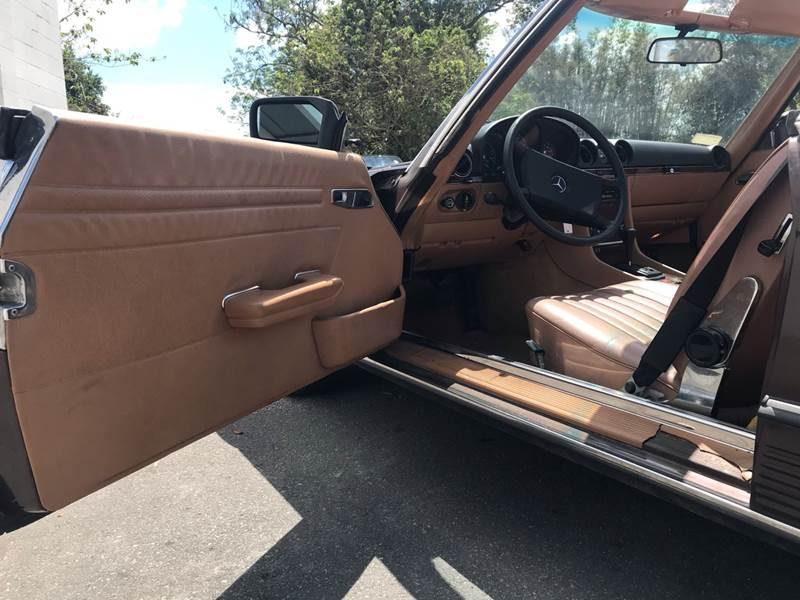 1984 Mercedes-Benz 380-Class 380 SL 2dr Convertible - Winter Park FL