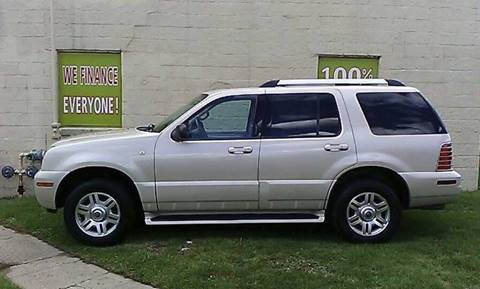 2005 Mercury Mountaineer for sale at Auto Financial Group LLC (AFG AUTO SALES) in Flat Rock MI