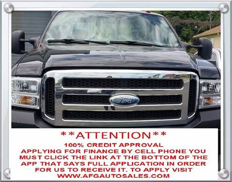 2005 Ford F-250 Super Duty for sale at Auto Financial Group LLC (AFG AUTO SALES) in Flat Rock MI