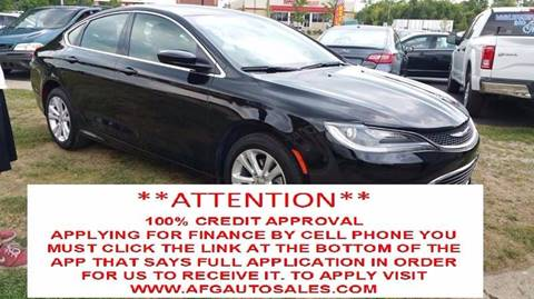 2016 Chrysler 200 for sale at Auto Financial Group LLC (AFG AUTO SALES) in Flat Rock MI