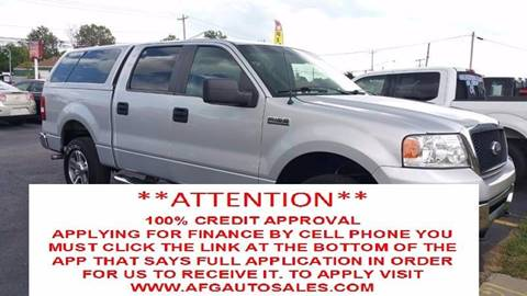 2008 Ford F-150 for sale at Auto Financial Group LLC (AFG AUTO SALES) in Flat Rock MI