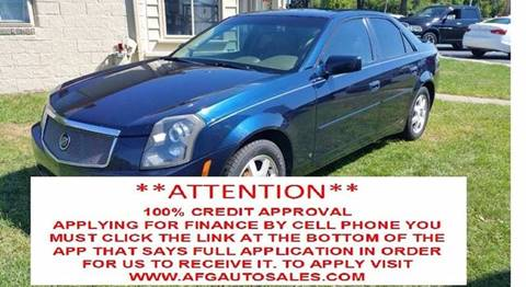 2007 Cadillac CTS for sale at Auto Financial Group LLC (AFG AUTO SALES) in Flat Rock MI