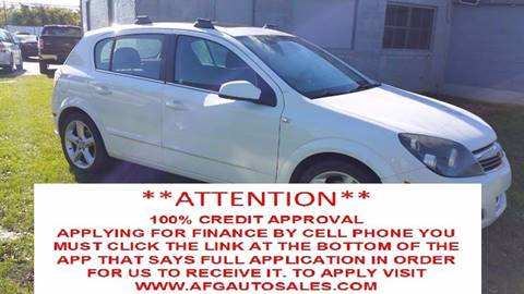 2008 Saturn Astra for sale at Auto Financial Group LLC (AFG AUTO SALES) in Flat Rock MI