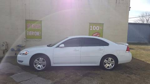 2012 Chevrolet Impala for sale at Auto Financial Group LLC (AFG AUTO SALES) in Flat Rock MI