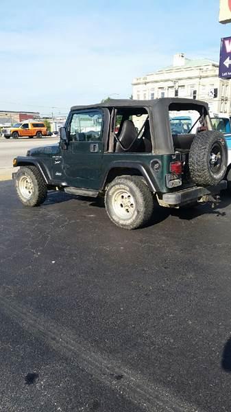 1999 Jeep Wrangler 2dr Sport 4WD SUV - Poplar Bluff MO