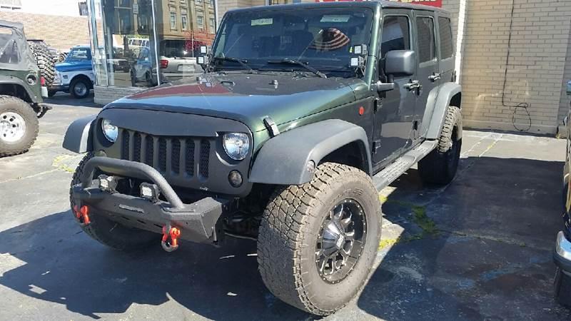 2011 Jeep Wrangler Unlimited 4x4 Sport 4dr SUV - Poplar Bluff MO