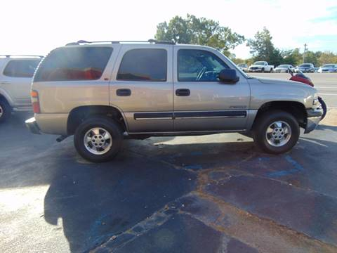 2001 Chevrolet Tahoe for sale in Poplar Bluff, MO