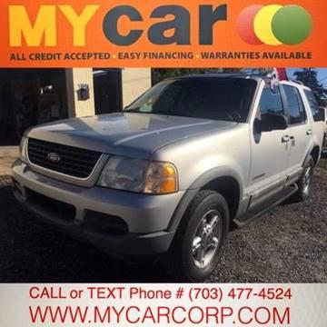 2002 Ford Explorer for sale in Fredericksburg, VA