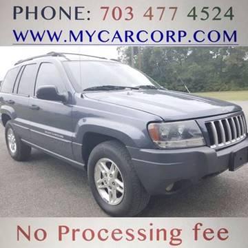 2004 Jeep Grand Cherokee for sale in Fredericksburg, VA
