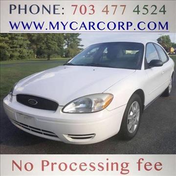2006 Ford Taurus for sale in Fredericksburg, VA