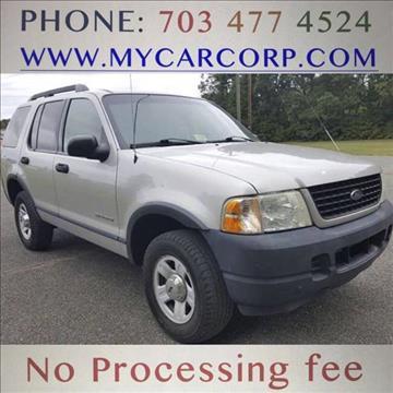2005 Ford Explorer for sale in Fredericksburg, VA