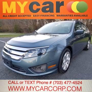 2011 Ford Fusion for sale in Fredericksburg, VA