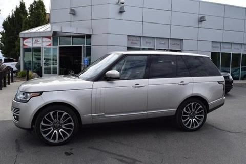 2015 Land Rover Range Rover for sale in Salt Lake City, UT