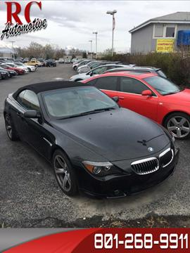 2004 BMW 6 Series For Sale - Carsforsale.com®
