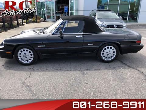 1989 Alfa Romeo Spider for sale in Salt Lake City, UT