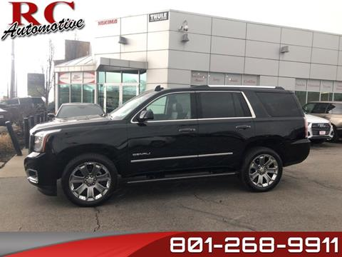 2016 GMC Yukon for sale in Salt Lake City, UT