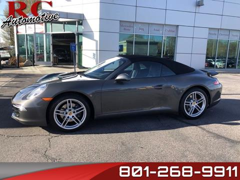 2016 Porsche 911 for sale in Salt Lake City, UT