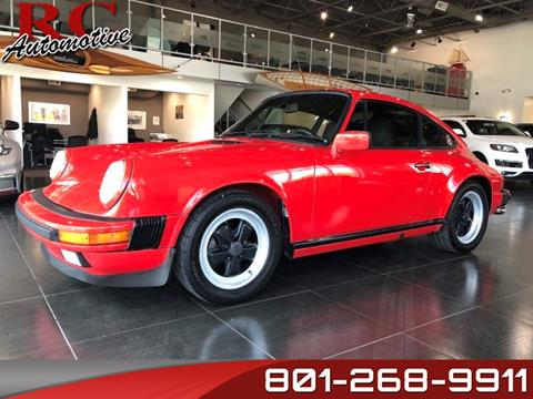 1988 Porsche 911 for sale in Salt Lake City, UT