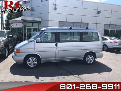 2002 Volkswagen EuroVan for sale in Salt Lake City, UT
