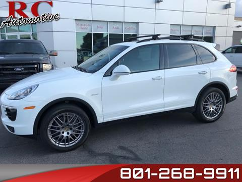 2016 Porsche Cayenne for sale in Salt Lake City, UT