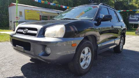 2006 Hyundai Santa Fe for sale in Floral City, FL