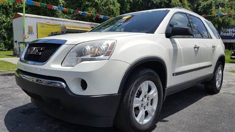 2010 GMC Acadia for sale in Floral City, FL