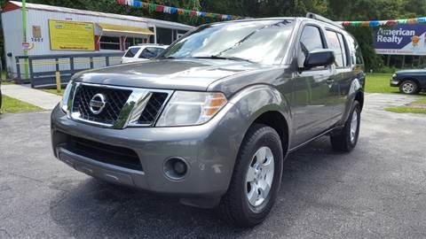 2008 Nissan Pathfinder for sale in Floral City, FL