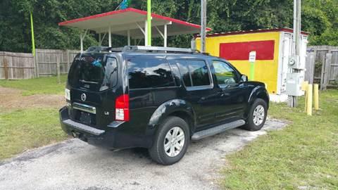 2007 Nissan Pathfinder for sale in Floral City, FL