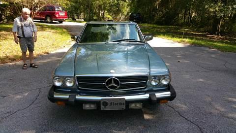 1979 Mercedes-Benz 450 SL for sale in Floral City, FL