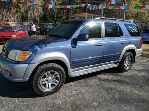 2004 Toyota Sequoia for sale in Floral City, FL