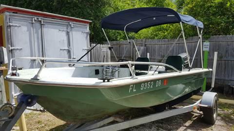 "1980 Johnsen 15'4"" Fiberglass Boat for sale in Floral City, FL"