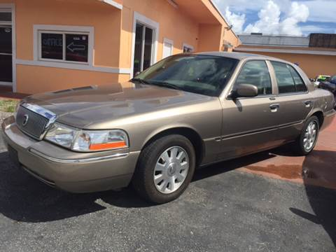 2004 Mercury Grand Marquis for sale in Hollywood, FL